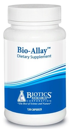 DROPPED: Biotics Research - Bio-Allay - 120 Capsules CLEARANCE PRICED