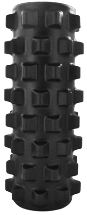 DROPPED: STI - Rumble Roller - 12 inch Extra Firm Black