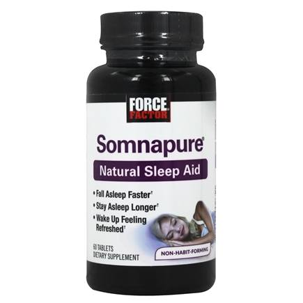 Peak Life - Somnapure Natural Sleep Aid Bonus Pack - 60 Tablet(s)