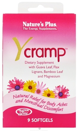 DROPPED: Nature's Plus - Y Cramp - 9 Softgels CLEARANCE PRICED