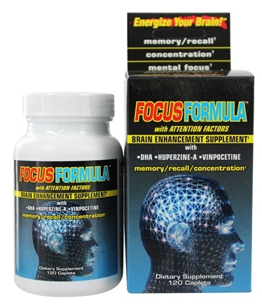 DROPPED: Windmill Health Products - Focus Formula Brain Enhancement Supplement - 120 Caplets