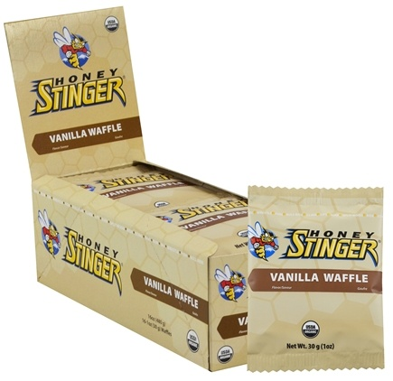 DROPPED: Honey Stinger - Organic Stinger Waffle Vanilla - 1 oz. CLEARANCE PRICED