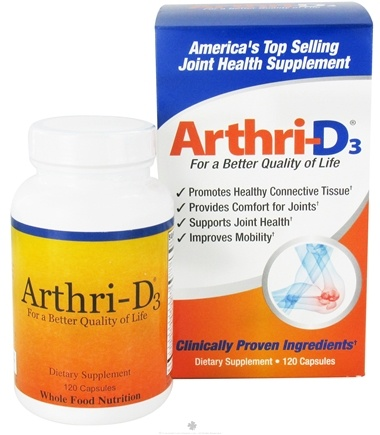 DROPPED: Arthri-D3 - Joint Health Supplement - 120 Capsules