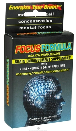 DROPPED: Windmill Health Products - Focus Formula Brain Enhancement Supplement - 60 Caplets