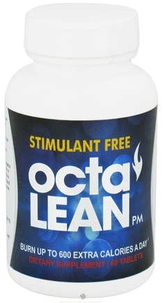 DROPPED: Lazer Health - Octalean Stimulant Free PM Formula with Raspberry Ketones and Brown Seaweed - 60 Tablets Formerly Core Health CLEARANCE PRICED
