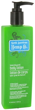 DROPPED: North American Hemp Company - Hemp Holy Grail Body Lotion - 11.56 oz.