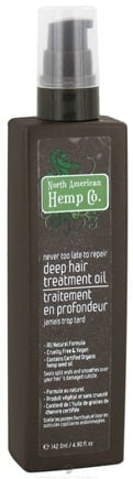 DROPPED: North American Hemp Company - Deep Hair Treatment Oil - 4.8 oz.