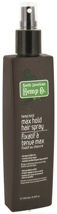 DROPPED: North American Hemp Company - Max Hold Hair Spray - 8.18 oz.