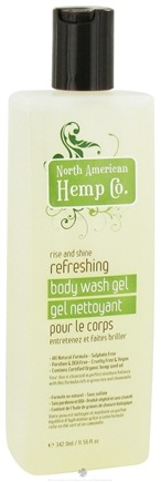 DROPPED: North American Hemp Company - Refreshing Body Wash Gel - 11.56 oz.