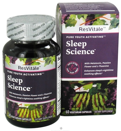 DROPPED: ResVitale - Pure Youth Activating Sleep Science - 60 Vegetarian Capsules