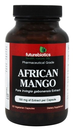 Futurebiotics - African Mango Pharmaceutical Grade 150 mg. - 120 Vegetarian Capsules