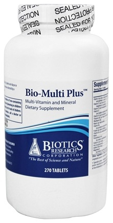 Biotics Research - Bio-Multi Plus - 270 Tablets