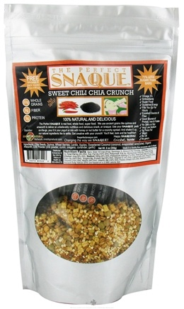 DROPPED: The Perfect Snaque - Sweet Chili Chia Crunch - 9 oz.