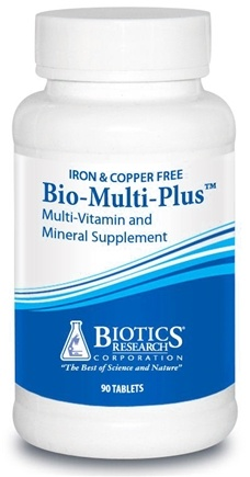 DROPPED: Biotics Research - Bio-Multi Plus Iron & Cooper Free - 90 Tablets CLEARANCE PRICED
