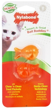 DROPPED: Nylabone - Insert-A-Treat Bait Buddies Cat Toy - CLEARANCE PRICED