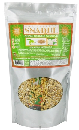 DROPPED: The Perfect Snaque - Apple Quinoa Crunch - 8 oz.