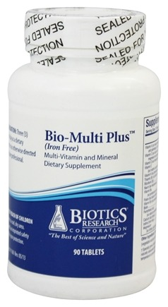 Biotics Research - Bio-Multi Plus Iron Free - 90 Tablets