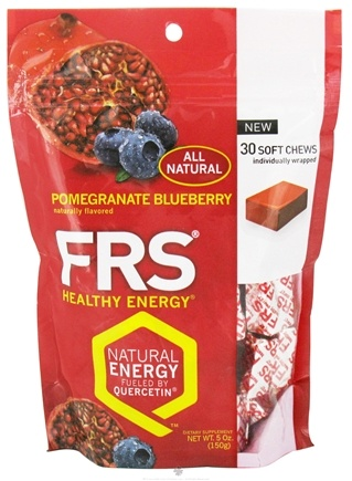 DROPPED: FRS Healthy Energy - Soft Chews Pomegranate Blueberry - 30 Soft Chews