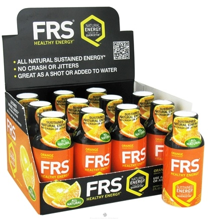 DROPPED: FRS Healthy Energy - All Natural Energy Shot Orange - 2 oz.
