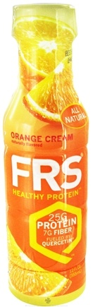 DROPPED: FRS Healthy Energy - All Natural Healthy Protein Orange 25g Protein - 12 oz. CLEARANCE PRICED