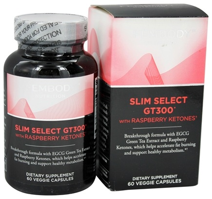 DROPPED: Fembody Nutrition - Slim Select GT300 with Raspberry Ketones - 60 Vegetarian Capsules