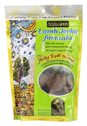 Solid Gold - Lamb Jerky Dog Treats - 10 oz.