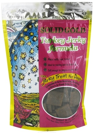DROPPED: Solid Gold - Turkey Jerky Dog Treats - 10 oz. CLEARANCE PRICED