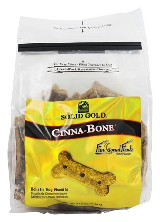 Solid Gold - Cinna-Bone Dog Treats - 2.5 lbs.