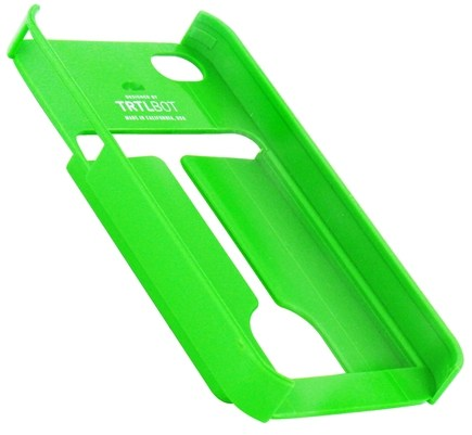 DROPPED: TRTL BOT - Minimalist 4 Eco-Friendly iPhone 4 / 4S Shell with Card Holder Green - CLEARANCE PRICED