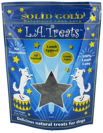 DROPPED: Solid Gold - L.A. Treats Lamb Appeal For Dogs - 7 oz. CLEARANCE PRICED