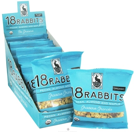 DROPPED: 18 Rabbits - Organic Granola Mini Gracious Granola - 0.15 oz.
