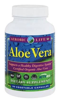 DROPPED: Aerobic Life - Desert Delight Aloe Vera Softgels 1000 mg. - 30 Softgels CLEARANCE PRICED
