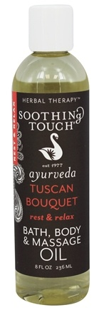 Soothing Touch - Bath, Body & Massage Oil Rest & Relax Tuscan Bouquet - 8 oz.