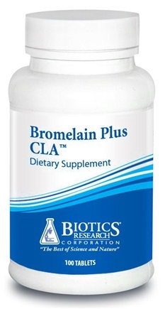 DROPPED: Biotics Research - Bromelain Plus CLA - 100 Tablets CLEARANCE PRICED