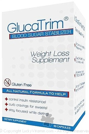 DROPPED: GlucaTrim - Blood Sugar Stabilizer - 60 Capsules CLEARANCE PRICED