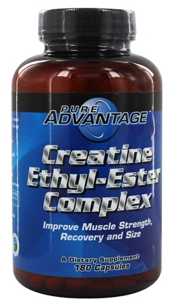 DROPPED: Pure Advantage - Creatine Ethyl-Ester Complex 2000 mg. - 180 Capsules CLEARANCE PRICED