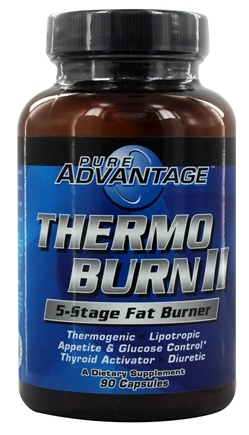 Pure Advantage - Thermo Burn II - 90 Capsules