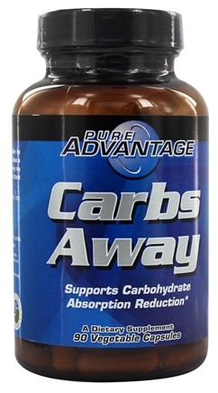 Pure Advantage - Carbs Away with White Kidney Bean Extract - 90 Softgels