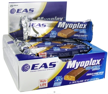 DROPPED: EAS - Myoplex Carb Control Nutrition Bar Peanut Butter - 2.46 oz. CLEARANCE PRICED