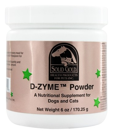 Solid Gold - D-ZYME Powder For Cats & Dogs - 6 oz.