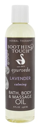 DROPPED: Soothing Touch - Bath Body & Massage Oil Calming Lavender - 8 oz.