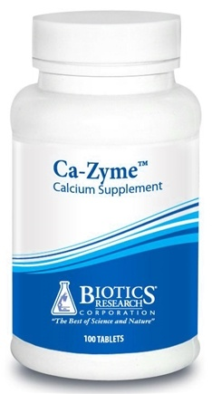 DROPPED: Biotics Research - Ca-Zyme - 100 Tablets