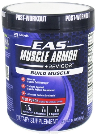 DROPPED: EAS - Muscle Armor + Revigor Fruit Punch - 14.9 oz. CLEARANCE PRICED