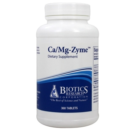 Biotics Research - Ca/Mg-Zyme - 360 Tablets