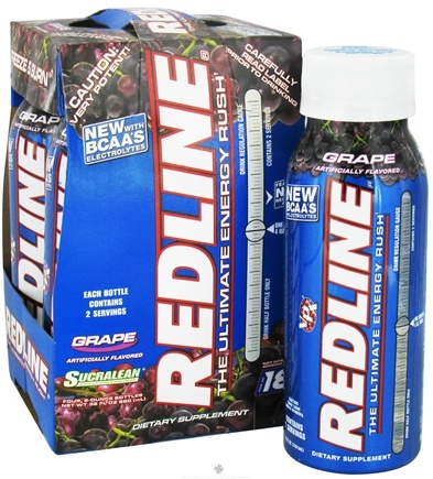 DROPPED: VPX - Redline Fat Incinerator 4 x 8 oz. Grape - 4 Pack