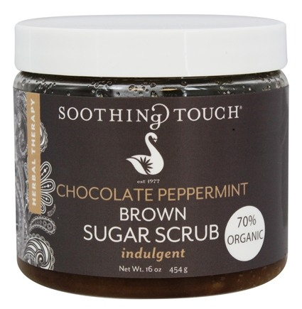 Soothing Touch - Brown Sugar Scrub Indulgent Chocolate Peppermint - 16 oz.