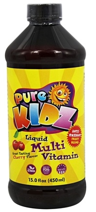 Pure Kidz - Liquid Multi Vitamin Cherry - 15 oz.