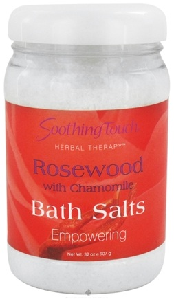DROPPED: Soothing Touch - Bath Salts Empowering Rosewood with Chamomile - 32 oz. CLEARANCE PRICED