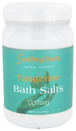 DROPPED: Soothing Touch - Bath Salts Uplifting Tangerine - 32 oz. CLEARANCE PRICED