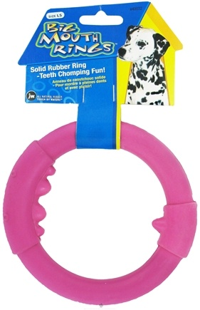 DROPPED: JW Pet Company - Big Mouth Ring Large Single Dog Toy - CLEARANCE PRICED
